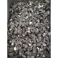 Чёрная мраморная крошка 10-20 мм. Камень декоративный ландшафтный природный натуральный.